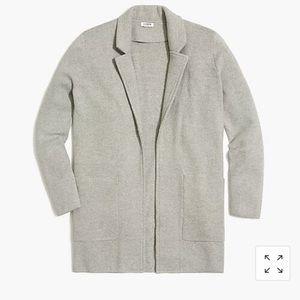 JCrew Open Front Sweater Blazer